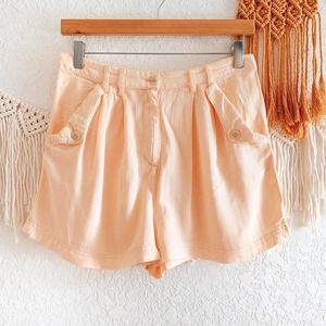 Urban Outfitters Peach Textured Shorts